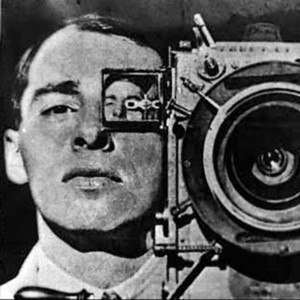 Still from Man with a Movie Camera - one of the docos we studied over the weekend
