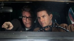 Christopher McQuarrie directing Tom Cruise